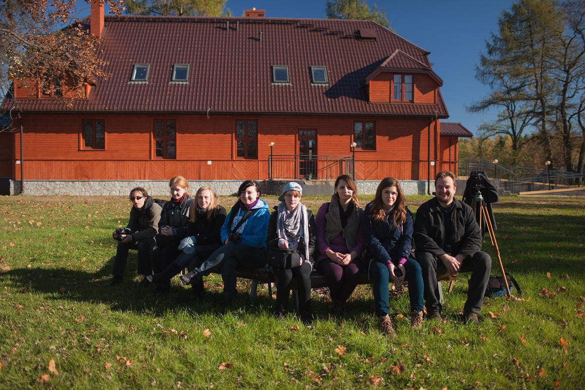 Plener jesienny  w Niemczynie   2013