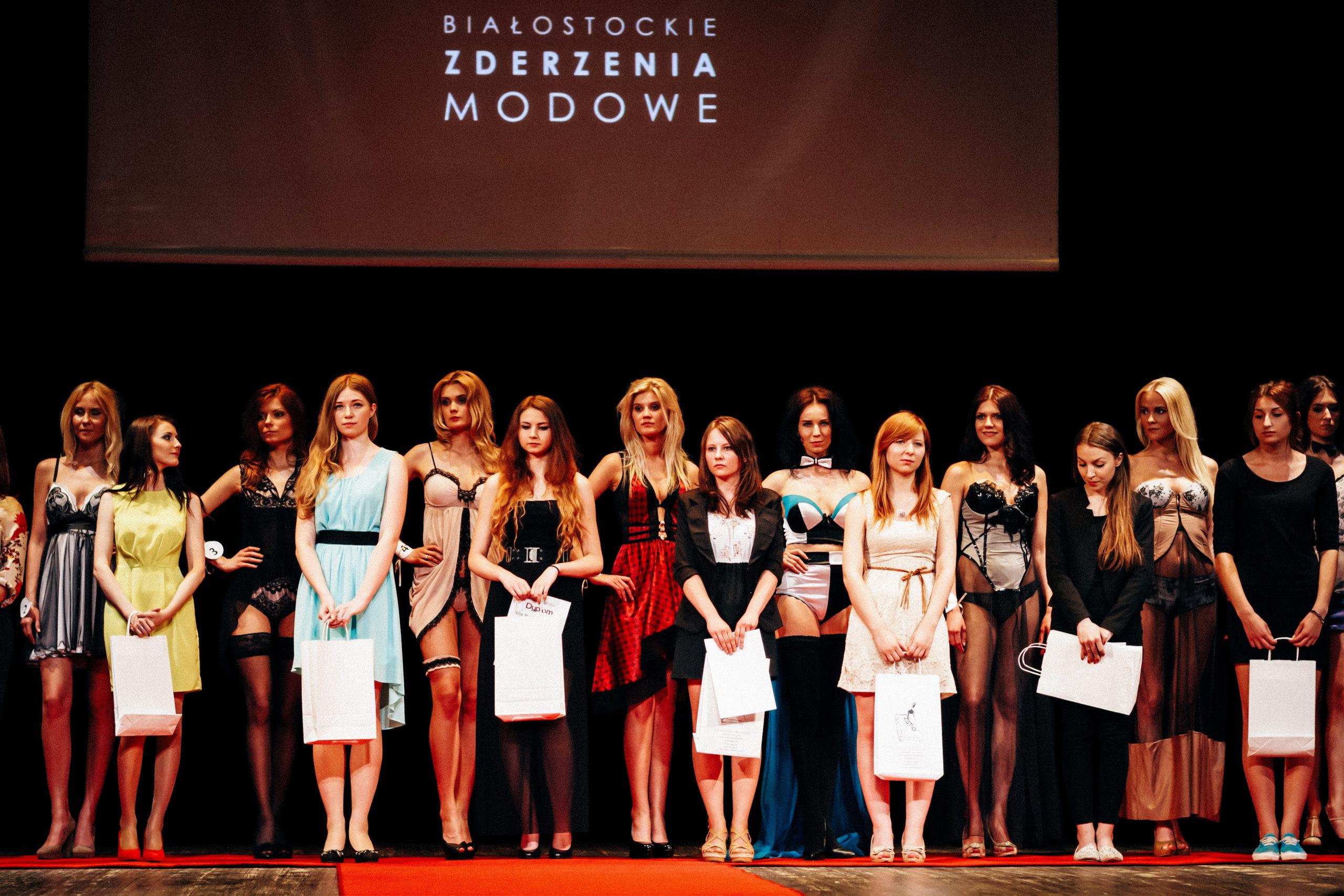 Pokaz mody bieliźnianej w Białymstoku | 2013