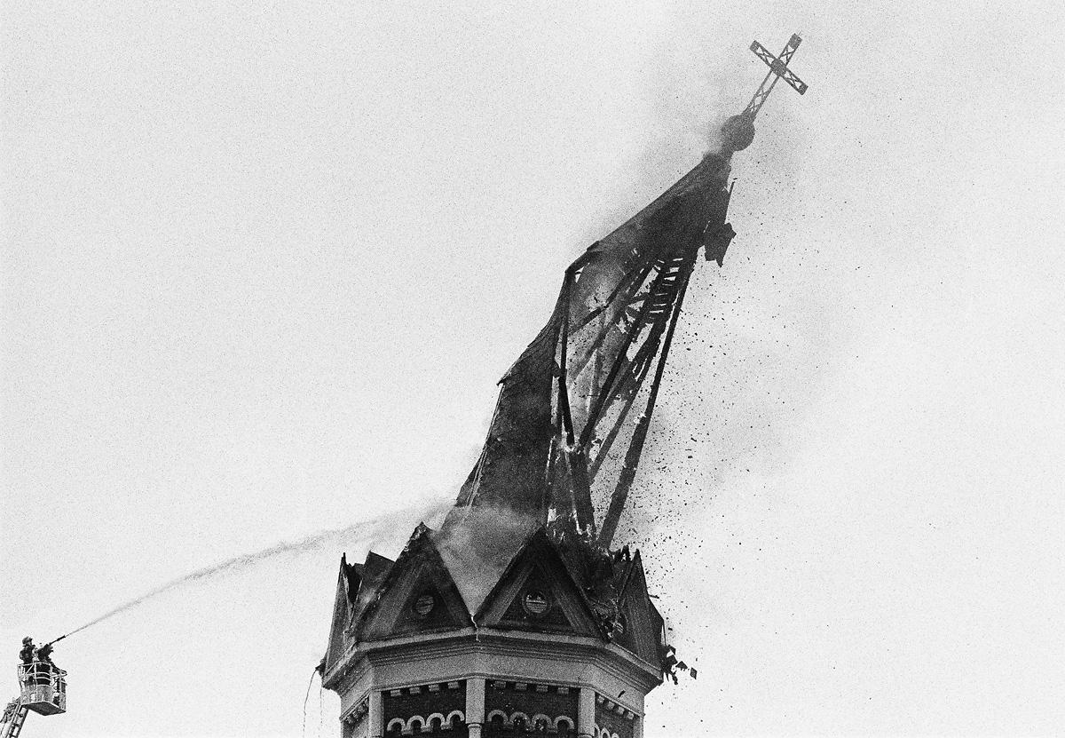 Pożar Kościoła w Białymstoku | 2013